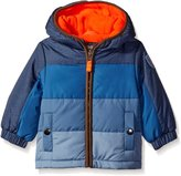 Osh Kosh OshKosh Boys' Infant Classic Heavyweight Colorblock Puffer Coat