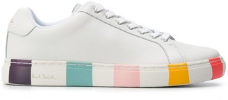 Paul Smith Striped Heel Lace-Up Sneakers