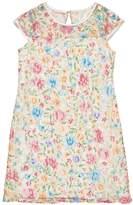 Florence Eiseman Floral Lace Dress, Size 7-14