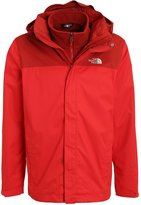 The North Face Evolve Ii Triclimate 2in1 Outdoor Jacket Red/cardinal Red