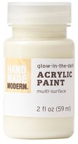 Hand Made Modern - 2oz Acrylic Paint - Glow in the Dark - Ghost