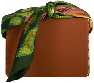 Montunas Leather Guaria Scarf Handle Bag