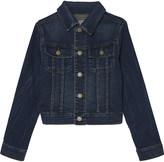 Ralph Lauren Trucker knit denim jacket 6-14 years