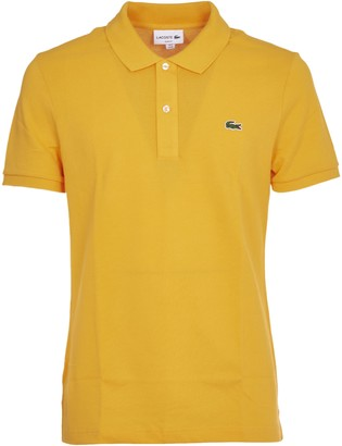 Lacoste Yellow Slim Fit Polo