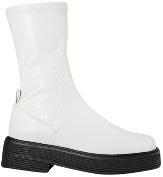 Tony Bianco Glacier Cream Venezia Calf Boots