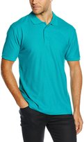 Fruit of the Loom Mens 65/35 Pique Short Sleeve Polo Shirt (L)