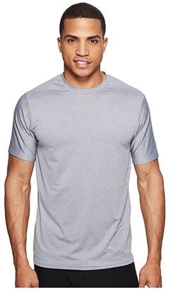 O'Neill Hybrid Short Sleeve Surf Tee (Black) Men's Swimwear