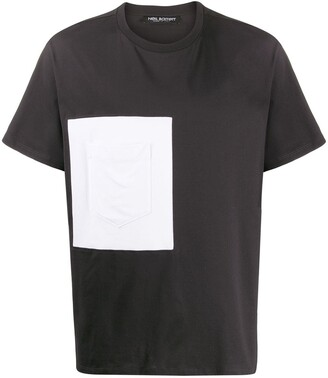 Neil Barrett chest patch pocket T-shirt