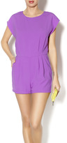 Byrds Purple Romper