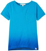 Appaman Dip Dye Tee (Toddler/Kid) - Methyl Blue - 4T