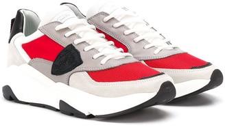 Philippe Model Kids Colour-Block Sneakers