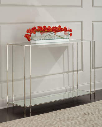 Arteriors Rose Marie Mirrored Console Table