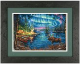 "Dimensions Gold Collection Northern Night Counted Cross Stitch Kit-16""X11"" 16 Count"
