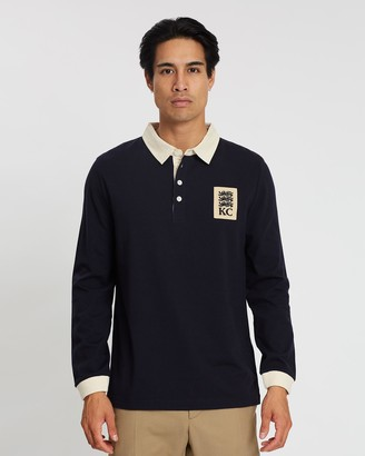 K&C Logo Patch KC Polo Shirt