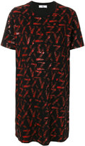 Versus loose fit patterned T-shirt