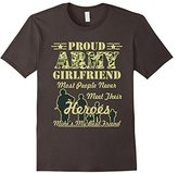 Proud Army Girlfriend T-Shirt memorial day tshirt