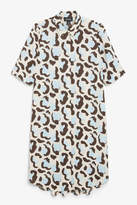 Monki Button-up shirt dress