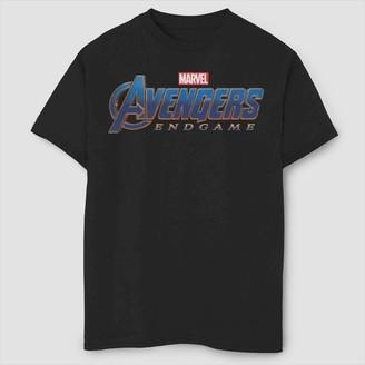Marvel Boys' Endgame Logo Short Sleeve Graphic T-Shirt -