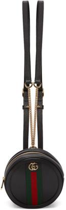 Gucci Black Mini Ophidia Backpack