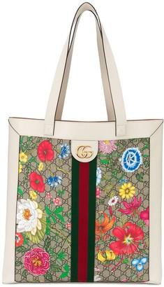 Gucci Ophidia GG Flora tote