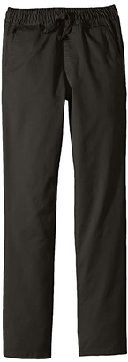 RVCA Kids A.T. Dayshift Elastic Pants (Little Kids/Big Kids) (Pirate Black) Boy's Casual Pants