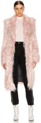 Sandy Liang Vert Coat in Pink Tinsel | FWRD