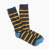 J.Crew Naval-striped socks