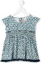 La Stupenderia printed blouse - kids - Cotton - 4 yrs