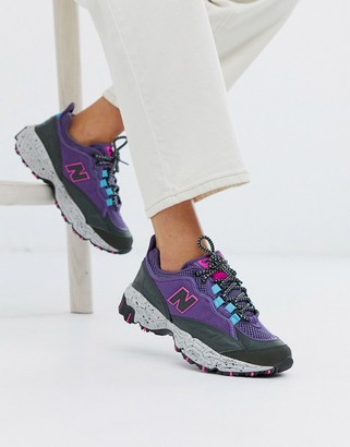New Balance 801 trail sneakers in purple