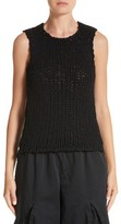 Comme des Garcons Women's Woven Sleeveless Top