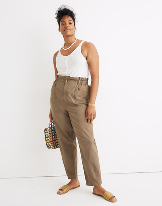 Madewell Pull-On Paperbag Pants