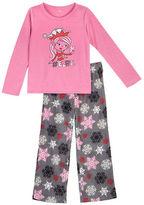 Petit Lem Holiday Two-Piece Printed Roundneck Tee and Pajama Pants Set