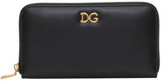 Dolce & Gabbana Baroque Logo Wallet