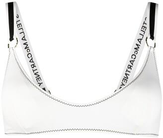 Stella McCartney Logo-Strap Bikini Top