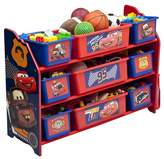 Cars 9 Bin Plastic Toy Organizer Disney Pixar Delta Children