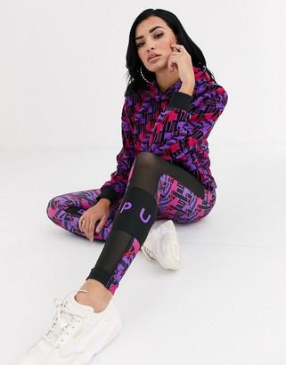 Puma Retro Print XTG leggings in multi
