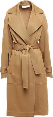 Victoria Beckham Belted Wool-twill Trench Coat