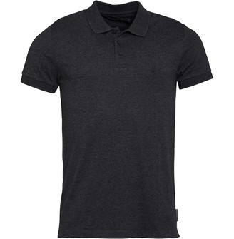 French Connection Mens Jersey Polo Charcoal Marl