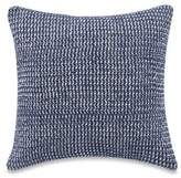 Kenneth Cole Kenneth Coles New York Escape Striped 16-Inch Square Throw Pillow in Blue