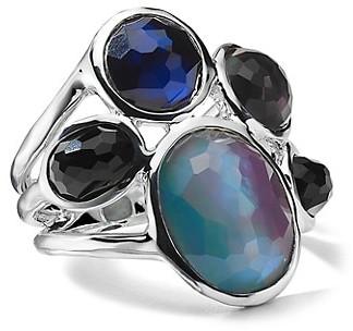 Ippolita Wonderland Sterling Silver & 5-Stone Cocktail Ring