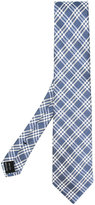 Tom Ford check pattern tie - men - Silk - One Size