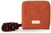 Deux Lux Cognac Juniper Zip Wallet