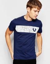 True Religion T-shirt Cracked Logo