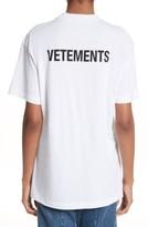 Vetements Women's Staff Basic Logo Tee