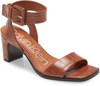 Calvin Klein Damita Ankle Strap Sandal