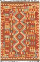 Ecarpetgallery eCarpet Gallery 131152 Istanbul Yama Kilim Light Gold Traditional Area Rug