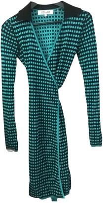 Diane von Furstenberg Green Polyester Dresses