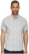Billy Reid Short Sleeve Tuscumbia Button Up Shirt Men's Short Sleeve Button Up