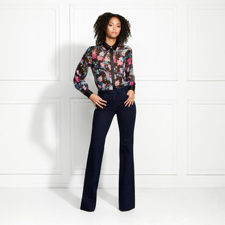 Rachel Zoe Denver Wildflower Printed Blouse