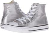 Converse Chuck Taylor® All Star® Metallic Canvas Hi (Little Kid)